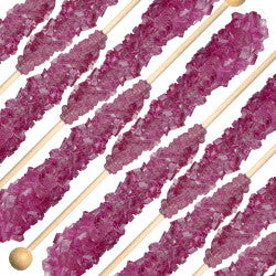 Rock Candy On A Stick Mauve