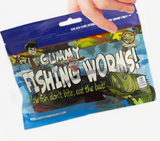 Giant Gummy Fishing Worms - 35% off
