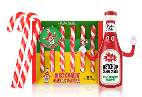 CANDY CANES with a flavour twist