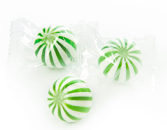 Sassy Spheres Wrapped Green
