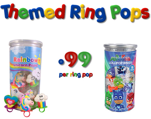 Lollipop Rings - Themed