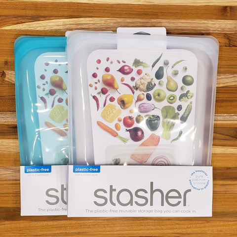 Stasher Reusable Bag - Sous vide/Half Gallon Size 1.92L