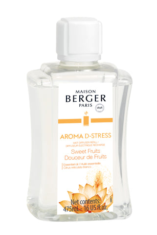 Aroma D-Stress  Mist Diffuser Fragrance - Sweets Fruits 475mL