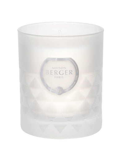 Clarity Frosted Precious Jasmine Scented Candle