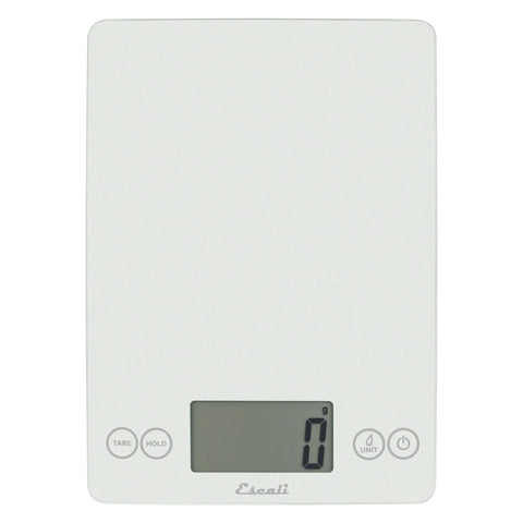 Escali Metallic Arti Glass Kitchen Scale
