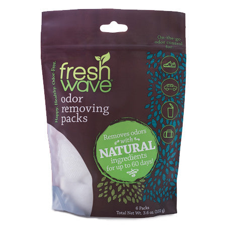Fresh Wave Odor Removing Packs - 6pc