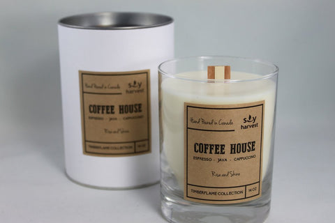 Timberflame Candle - Coffee House