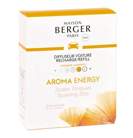 Aroma Energy Car Diffuser Refills (set of 2)