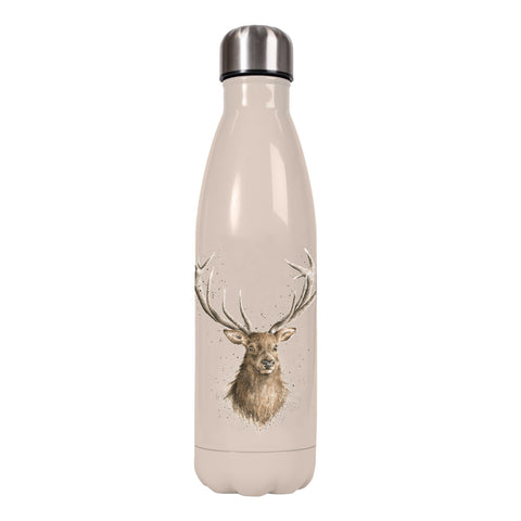 Wrendale Water Bottle Stag