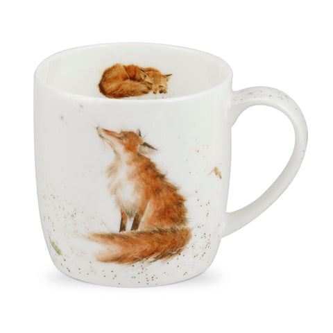 Wrendale Fine Bone China Mug - Artful Poacher Fox