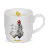 Wrendale Fine Bone China Mug - Curious Hen