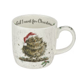 Wrendale Fine Bone China Mug - Owl I Want for Christmas