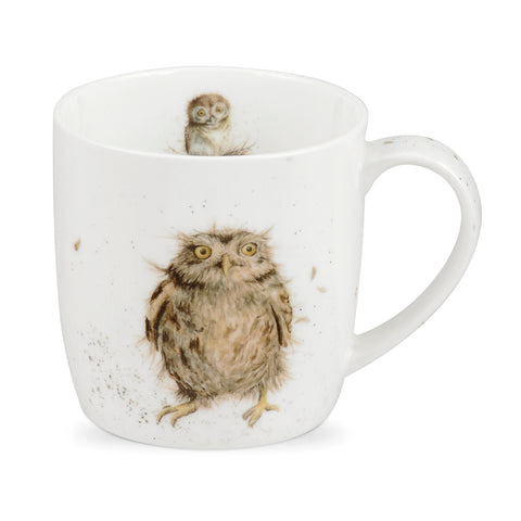 Wrendale Fine Bone China Mug - What a Hoot Owl