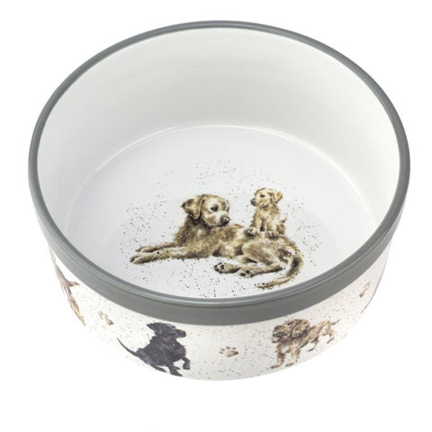 "Wrendale 8"" Pet Bowl Dogs"