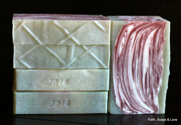Amazing Grace - Artisan Small Batch Soap - Made in MN - Bergamot & Lemon