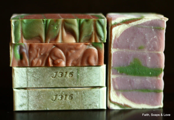 Angels Whispering Handcrafted Soap - Fern, Floral, Jasmine, Lily, Musk