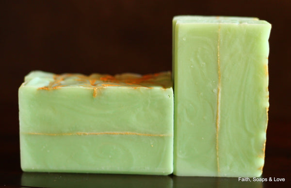 Apple of His Eye Handcrafted Soap - Green Apple & Clove Scented