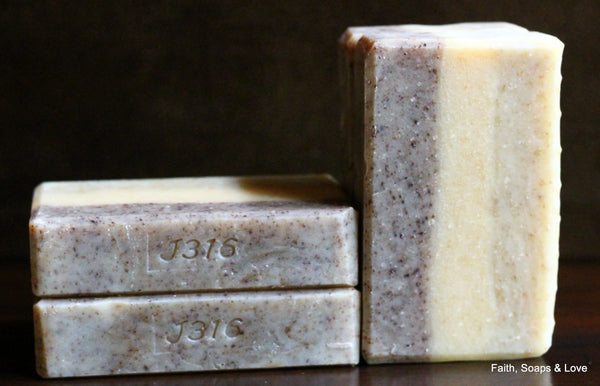 Beautiful - Artisan Small Batch Soap - Patchouli, Gardenia, Grapefruit