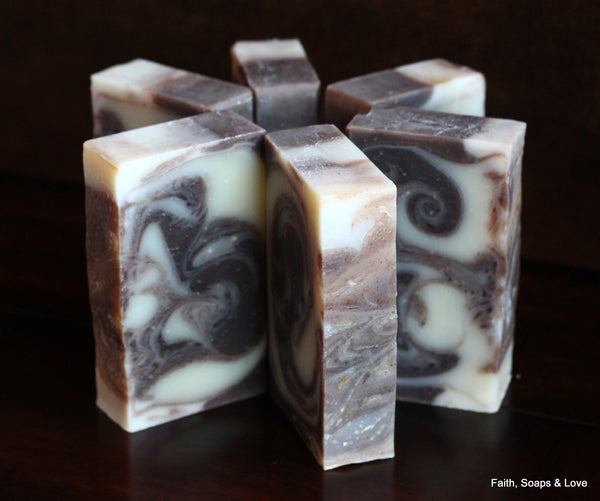 Believe - Handcrafted Soap - Raspberry  & Patchouli Scented