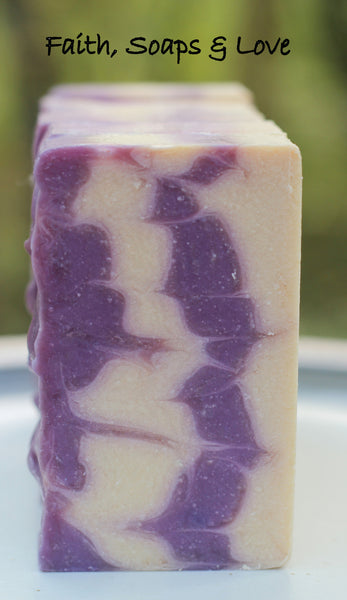 LAST BARS Blackberry Almond Handcrafted Artisan Soap - Christian Soap Made in Minnesota