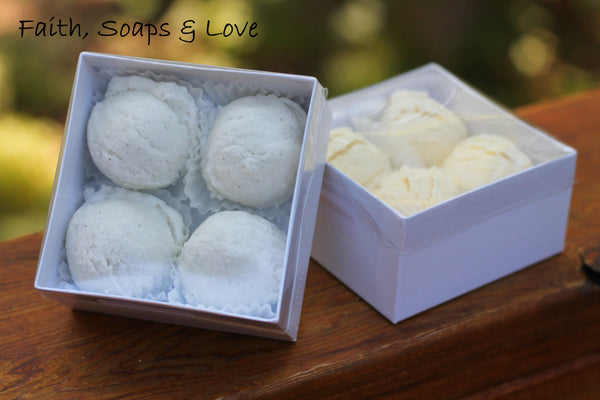 Hot Buttered Rum Scented Bubble Scoops - Bath Product - Scented Moisturizing Bubble Bath - Vanilla Rum Cream Nutmeg