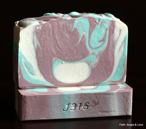 Devotion - Lily of the Valley Scented Soap - Handcrafted Artisan Soap