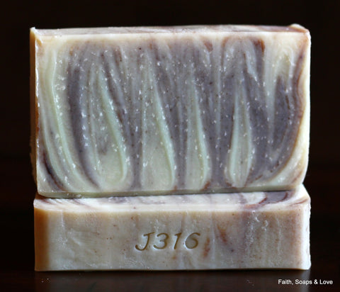 Faithful - Essential Oil Blend - Cedarwood, Grapefruit, Orange, Ylang Ylang Handcrafted Artisan Soap - Natural Soap