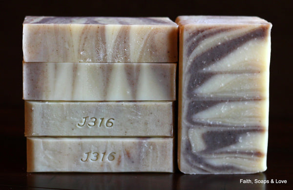 Faithful - Essential Oil Handcrafted Artisan Soap - Natural