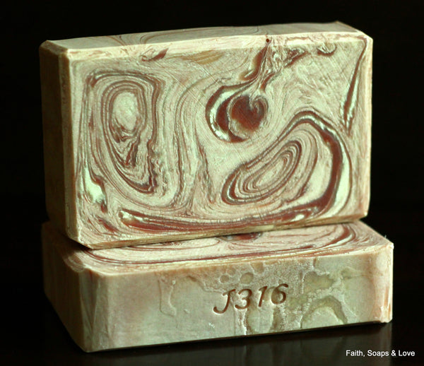 Far Above Rubies - Sweet Cranberry and Plum Scented Handmade Soap