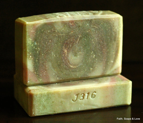Fragrant Offerings Handcrafted Artisan Soap - Nag Champa Scented