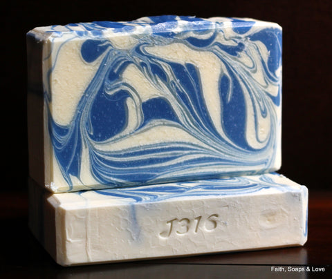 Fresh Snow Handcrafted Soap - Made in Minnesota