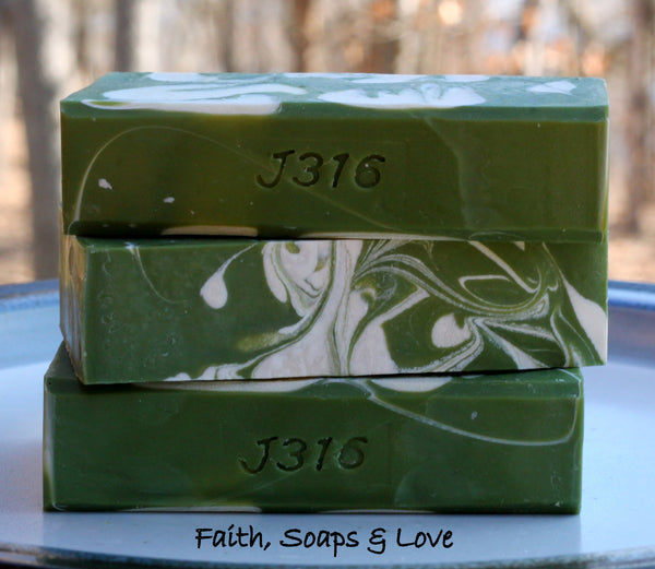 Gardenia - Homemade Olive Oil Soap scented with Gardenia