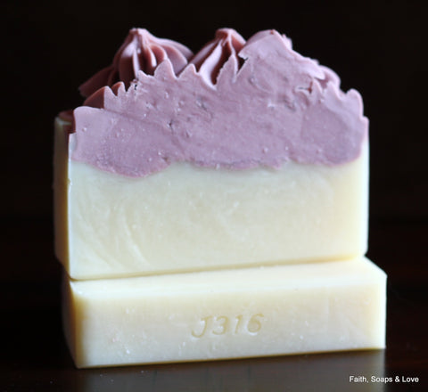 Grace - Handcrafted Artisan Soap - Christian Gift Made in MN
