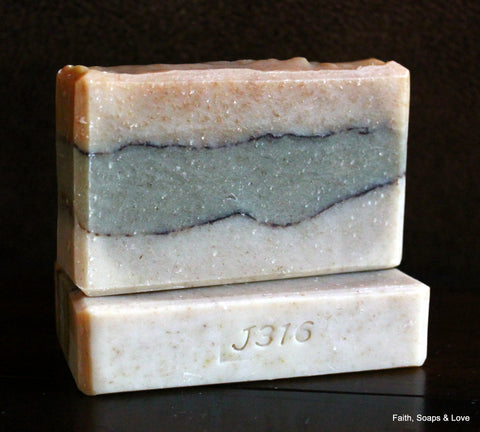 Heavenly - Artisan Small Batch Soap - Made in MN - Grapefuit, Almond, Wheat, Vanilla, Musk