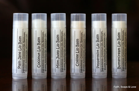 Lip Balm - Reformulated - Flavored - Essential Oil - Flavor Oil
