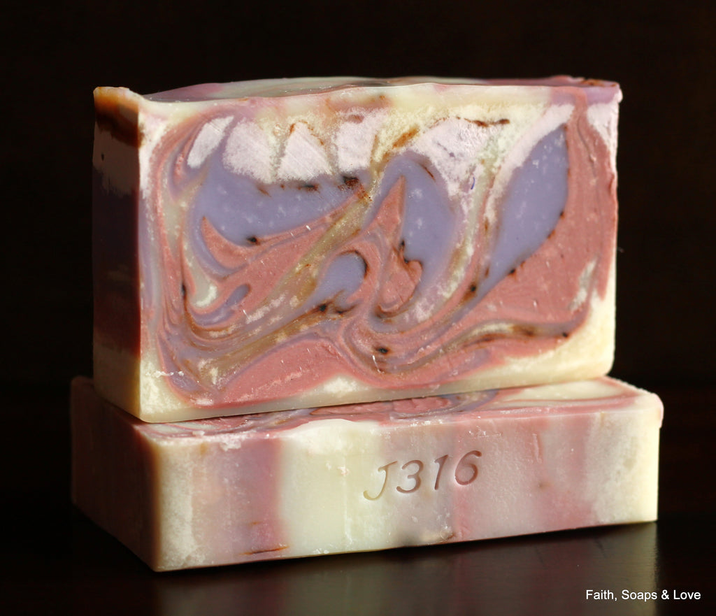 Lavender Essential Oil Soap - Handcrafted Artisan Soap - Relaxing