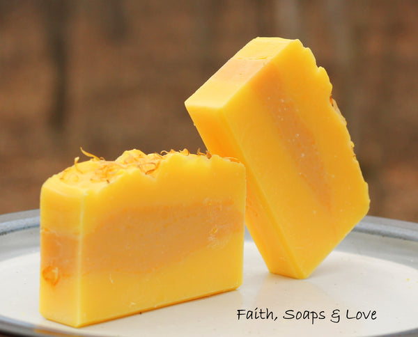 Lemon Verbena Handmade Soap - Bergamot and Lemon Verbena