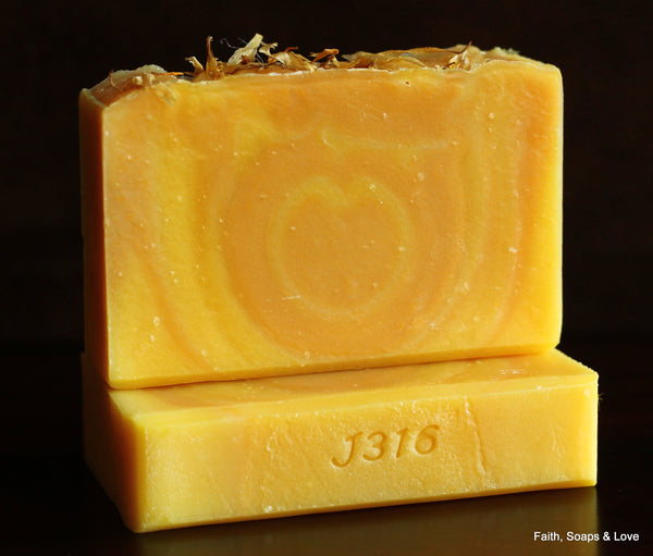 Loved - Lemon Verbena Scented Handcrafted Soap