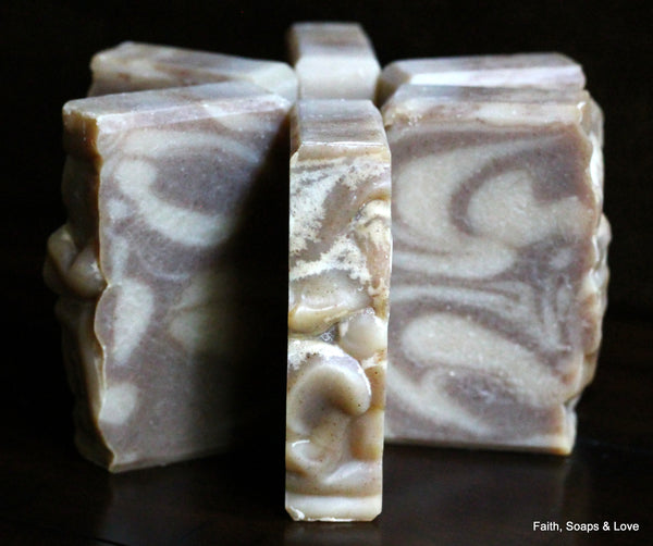 Marrakesh Scented Handcrafted Soap - Bamboo, Vanilla Vetiver, Patchouli