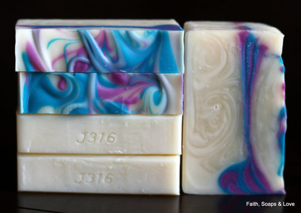 Mercy - Lilac Scented Handcrafted Artisan Soap - Christian Gift Made in MN