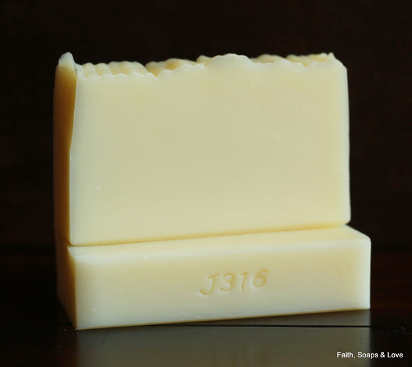 Naked Shampoo Soap Bar - All Natural Soap - Unscented