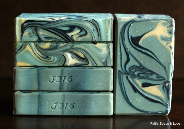 Naomi - Women of the Bible Soap - Handcrafted Amber, Vanilla & Citrus