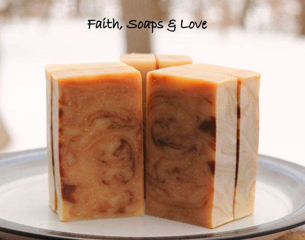 LAST BARS Nuttin' But Oat Milk & Honey All Natural Olive Oil Soap Unscented