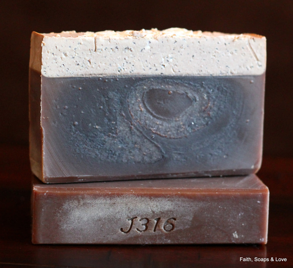 Oatmeal Stout Handcrafted Soap - Superior Brewing Oatmeal Stout Beer - Made in Minnesota