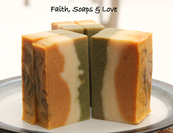 Oh My, Olive Handcrafted Soap - Romantic - Adventerous - Christian - Made in Minnesota