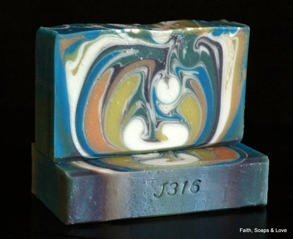 Positive Energy Handcrafted Artisan Soap - Citrus - Made in MN