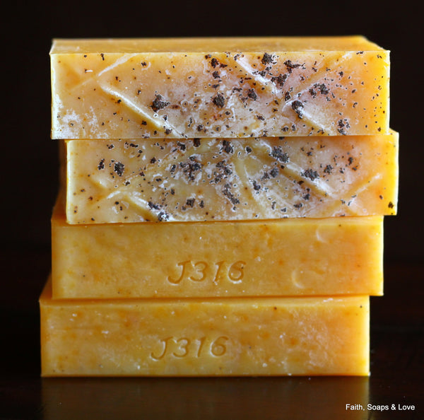 Pure Handcrafted Soap - Made with Orange & Clove Essential Oils - All Natural