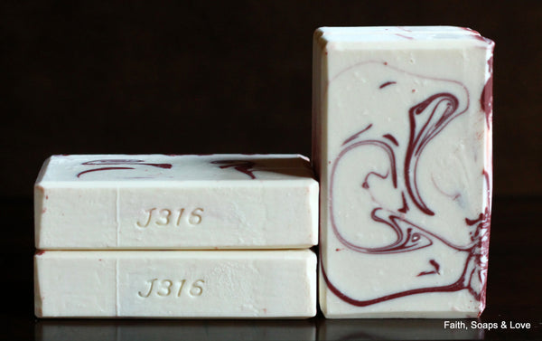 Rahab - Women of the Bible Soap - Scented Lavender & Champagne