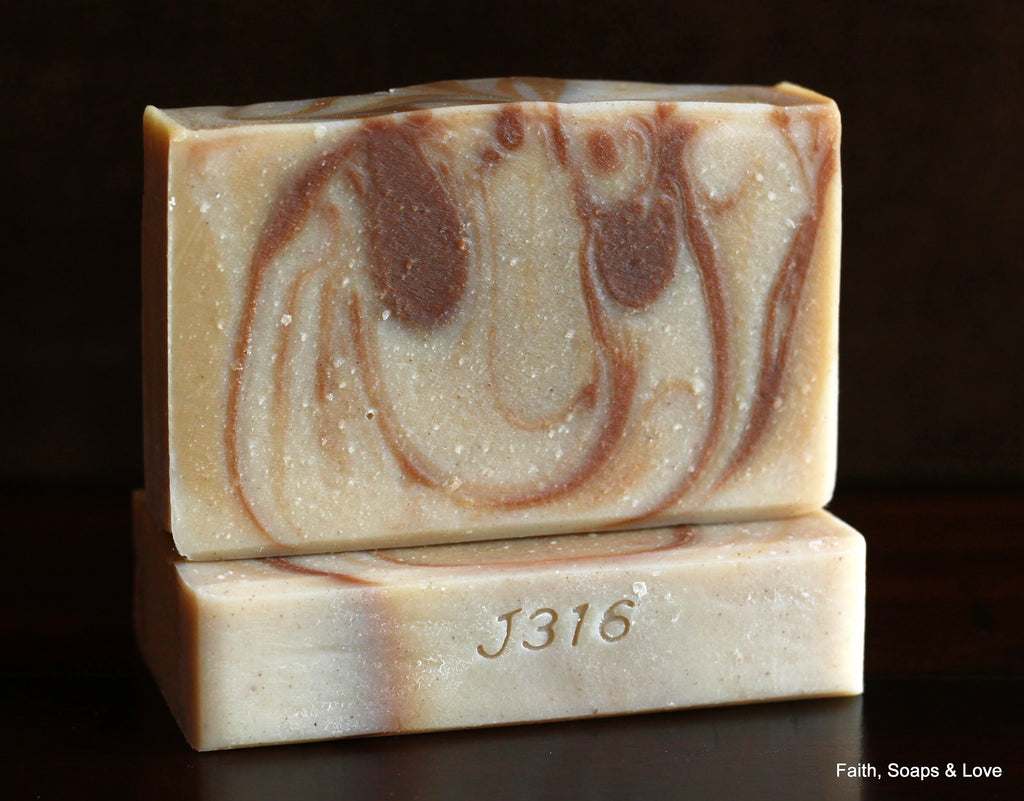 Sandalwood Scented Handcrafted Soap - Goat Milk - Minnesota