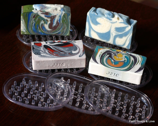Soap Dish - Protect Your Handcrafted Artisan Soap - Extend the Life of Your Homemade Soap